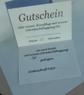 Flugschule zwickau for Gutschein boden
